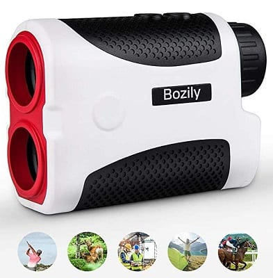 Bozily Golf Rangefinder 6X Laser Range Finder 1000 Yards with Slope ON-Off Technology