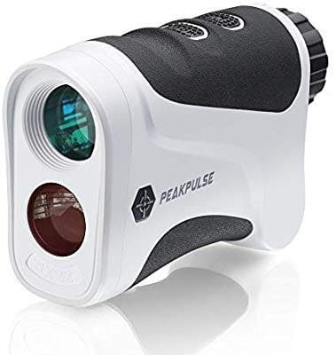 PEAKPULSE Golf Laser Rangefinder with Flag Acquisition, Pulse Vibration and Fast Focus System
