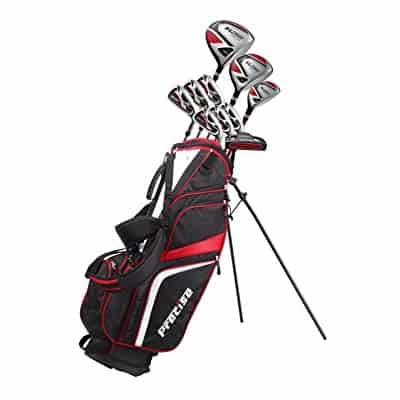 PreciseGolf Co. 14 Piece Men's All Graphite Complete Golf Clubs Package Set