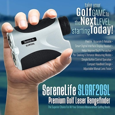 SereneLife Advanced Golf Laser Rangefinder