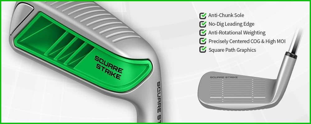 Square Strike Wedge -Pitching & Chipping Wedge