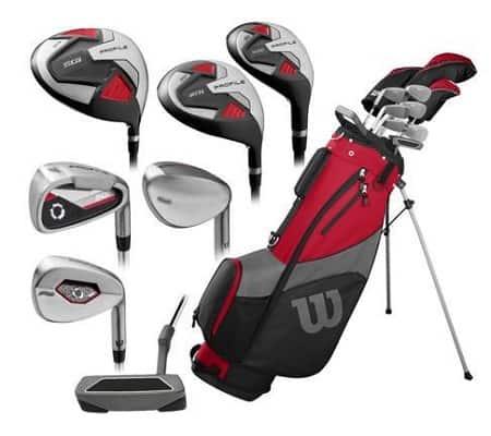 Wilson Golf Profile SGI Men's Complete Golf Set