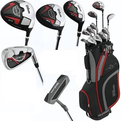 Wilson Men's 2015 Profile Junior Complete Package Golf Set