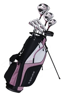 Aspire XD1 Ladies Women's Complete Right-Handed Golf Clubs Set