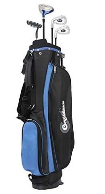 Confidence Junior V2 Golf Club Set with Stand Bag (for Kids Ages 4-7 Years, Right)