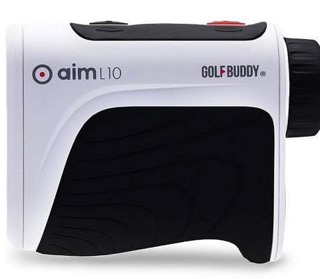 GolfBuddy AIM-L10 Aim L10 Ergonomic Golf Accuracy Distance Laser Rangefinder