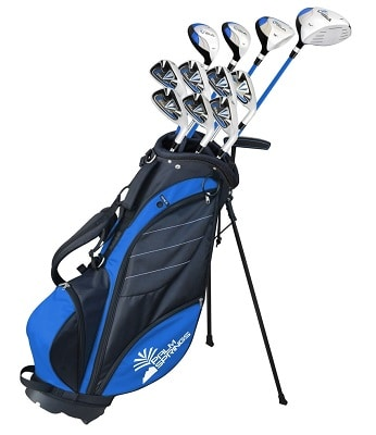 Palm Springs Golf Visa V2 Youth-Teenager All Graphite Club Set & Stand Bag
