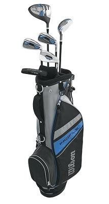 Wilson Profile Complete Junior Golf Set w or Golf Bag
