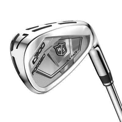 Wilson Staff Golf C300 Forged Iron Set KBS Tour 105 Steel