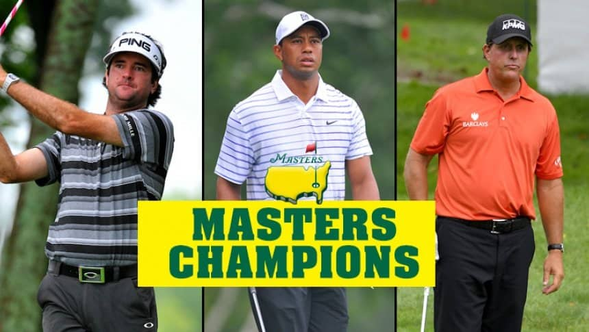 The Masters Tournament Notable Winners