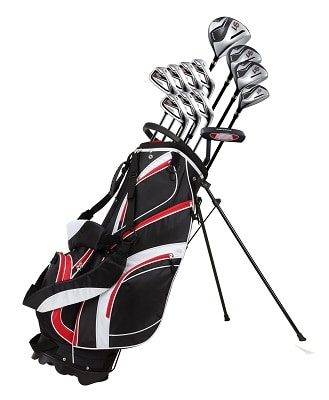 18 Piece Men's Complete Golf Club Package Set