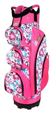 Birdie Babe Flower Power Pink Women's Golf Cart Bag