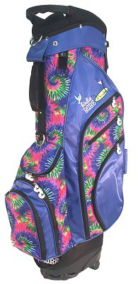 Birdie Babe Women's Hybrid Golf Bag Tie Dye
