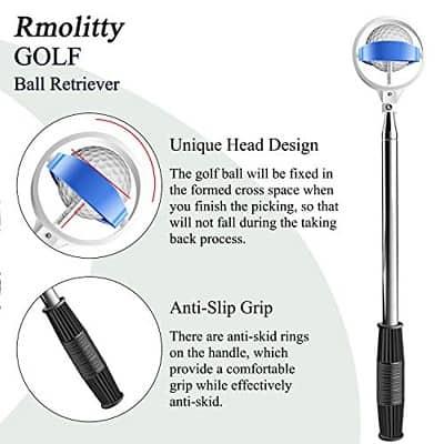 Extendable Golf Ball Retriever for Water