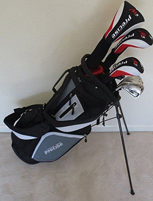 New Mens Left Handed Complete Golf Set