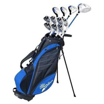 Palm Springs Golf VISA Mens +1″ TALL GRAPHITE _ STEEL Club Set