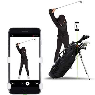 SelfieGOLF Record Golf Swing – Cell Phone Holder Golf Analyzer Accessories