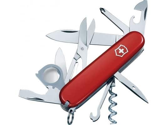 Victorinox Swiss Army Golftool Pocket Knife with Pouch