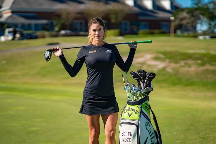 Belen Mozo hot golf chick