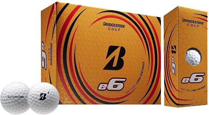 Bridgestone 2019 e6 Golf Balls Bridgestone One Dozen