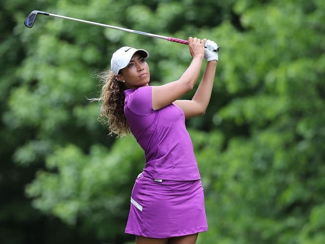 Cheyenne Woods hot golf chick