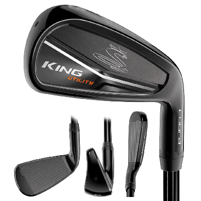 Cobra Golf- King Utility Black Iron Graphite