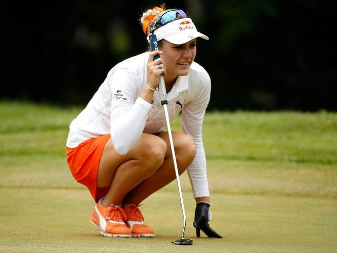 Lexi Thompson hottest golf player