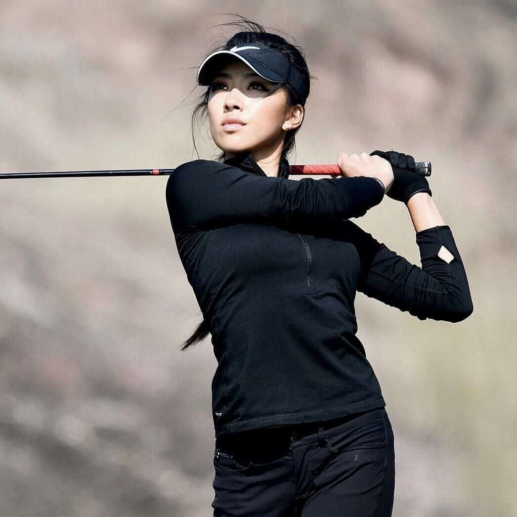 Lily Muni He hottest golf player