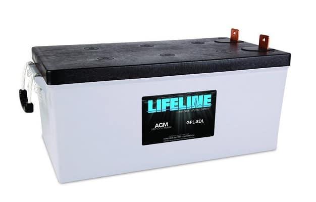 Marine Lifeline AGM Battery GPL-8DL