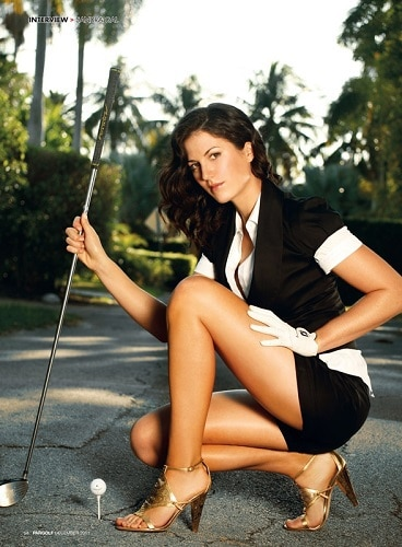 Sandra Gal hottest golf player