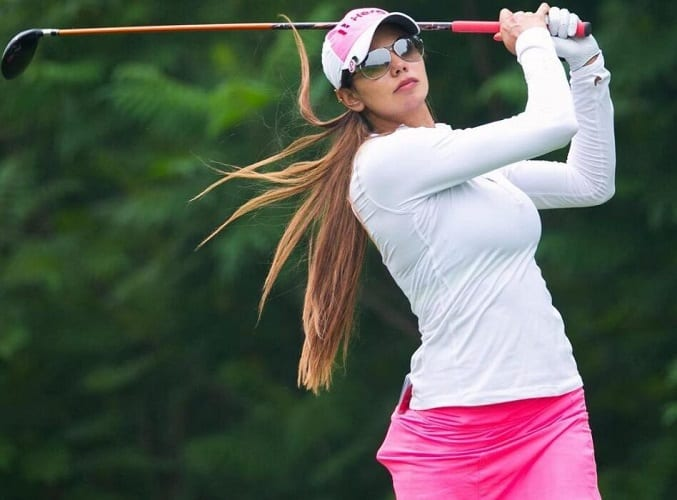 Sharmila Nicollet hottest golf player
