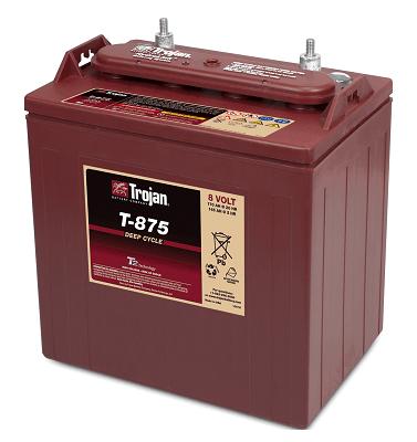Trojan T-875 8V Golf Cart Batteries