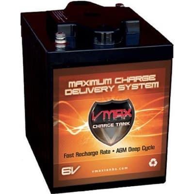VMAXTANKS 6 Volt 225Ah AGM Battery