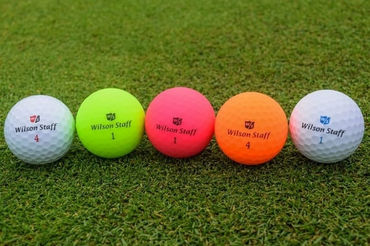 Colors of Golf Ball Numbers