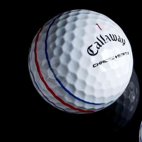 Golf Ball Callaway Chrome Soft X with Triple Track