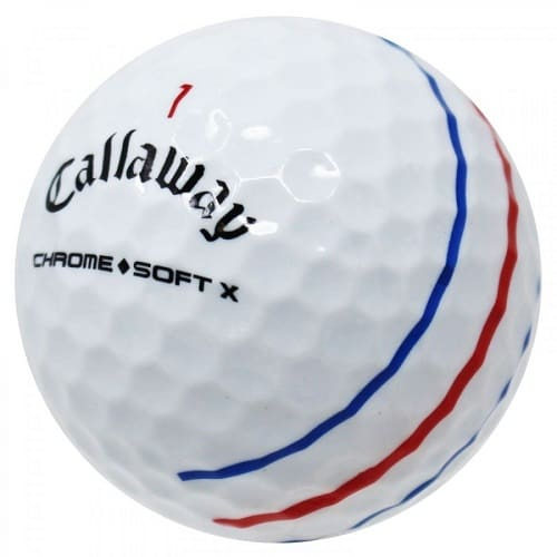 Golf Ball Callaway Chrome Soft X