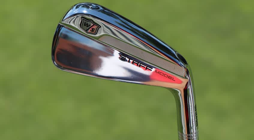 Iron Wilson Staff Model Blades with KBS Tour C-Taper Shafts