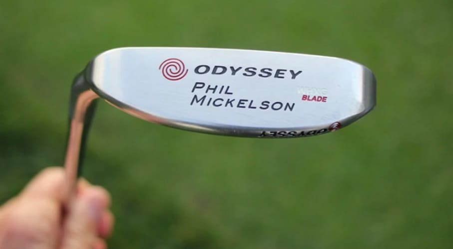 Putter Odyssey Milled Blade Phil Mickelson