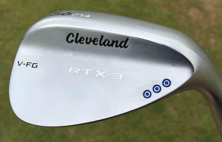 Wedges Cleveland RTX-3 48˚, 54˚, 60˚