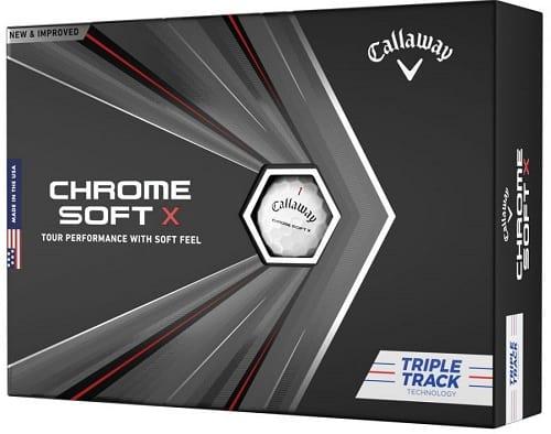 Callaway Chrome Soft X20 Triple Track